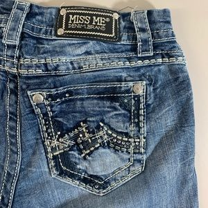 Miss Me JE5386ER Easy Boot Jeans Size 26 X 30